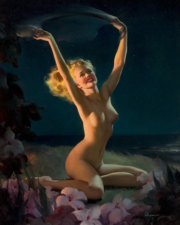 Gil Elvgren - Gay Nimph (1947)